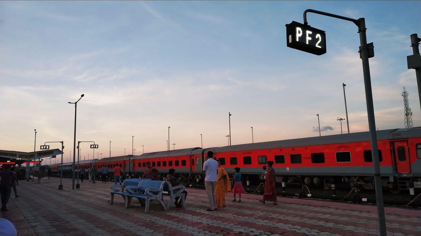 Photo of Agartala Railway Station By Nirmalya Nath