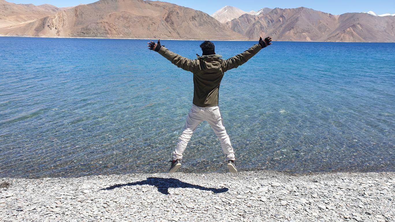 Photo of Pangong Lake By sakthi vel