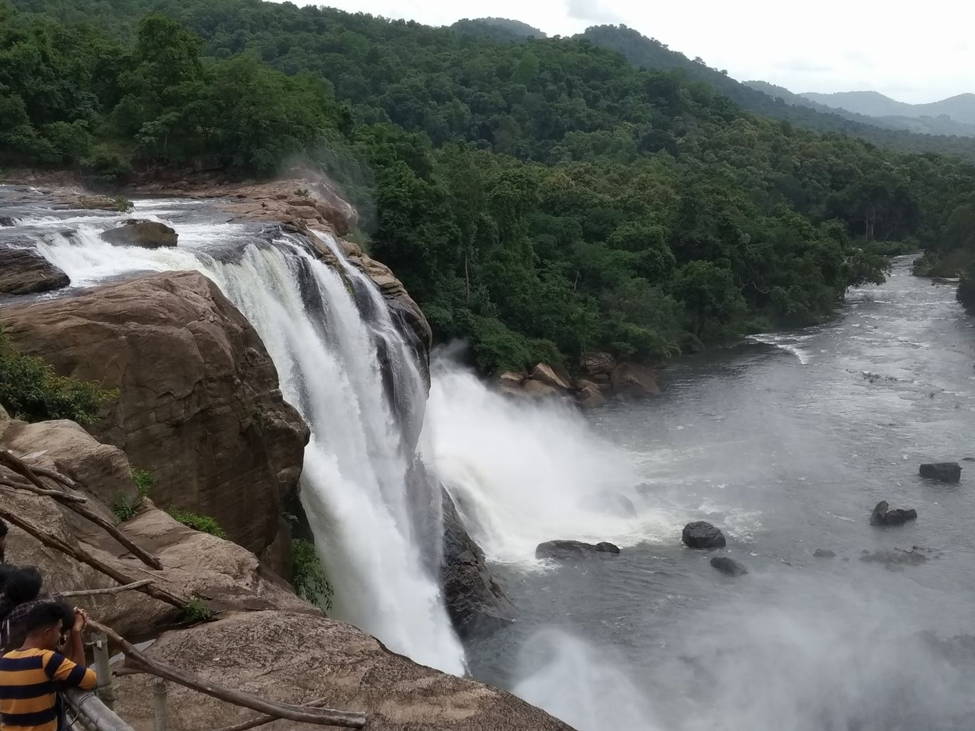 Photo of Athirappilly Water Falls By Ananda Mohan Mitra