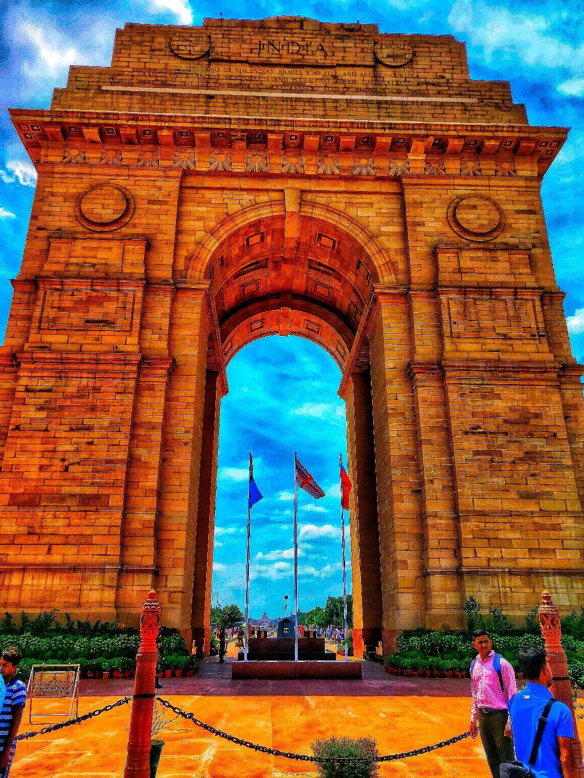 Photo of India Gate By Abhilash Sahoo