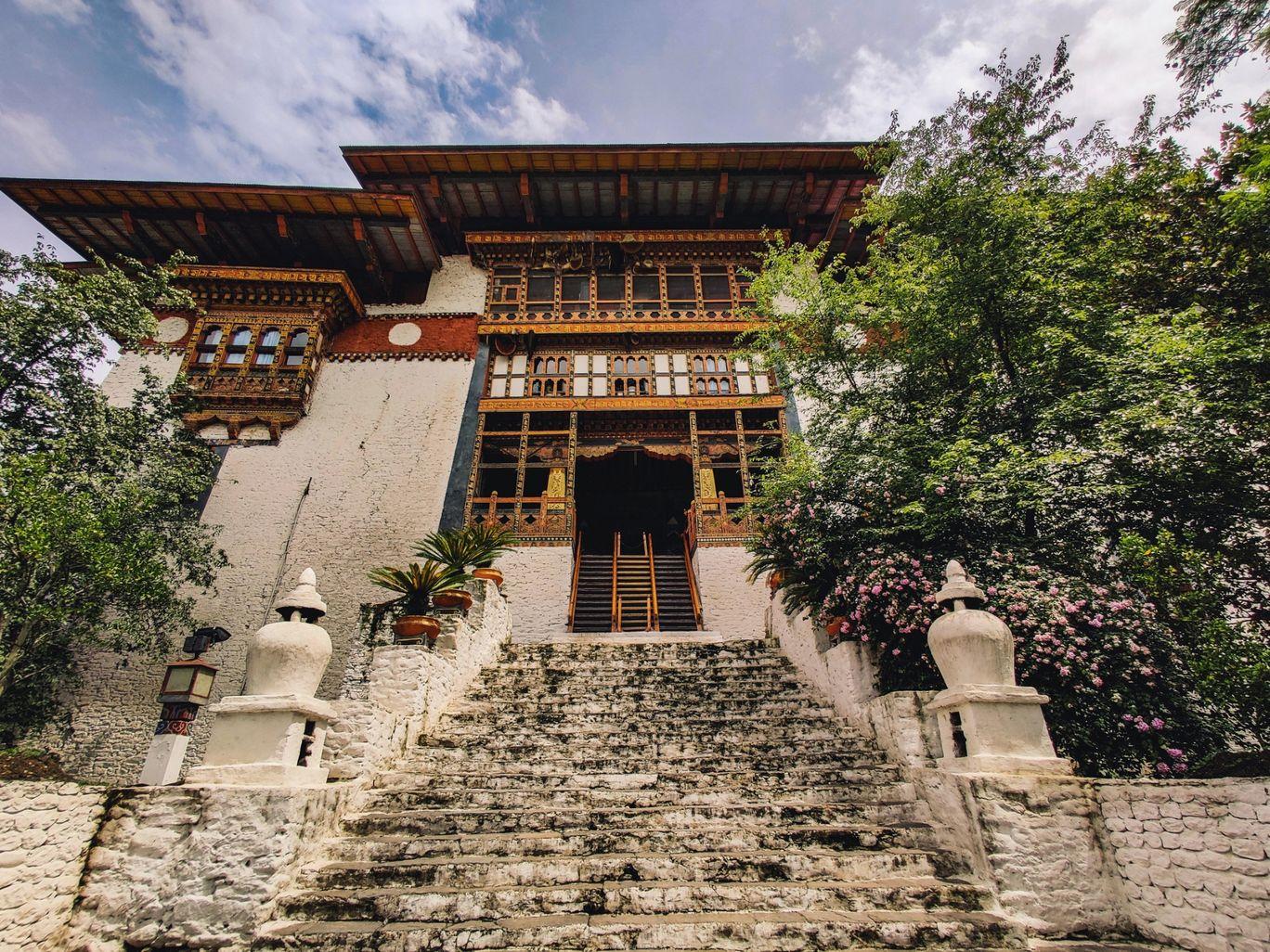 Photo of Punakha Dzong By nagarjun mallesh
