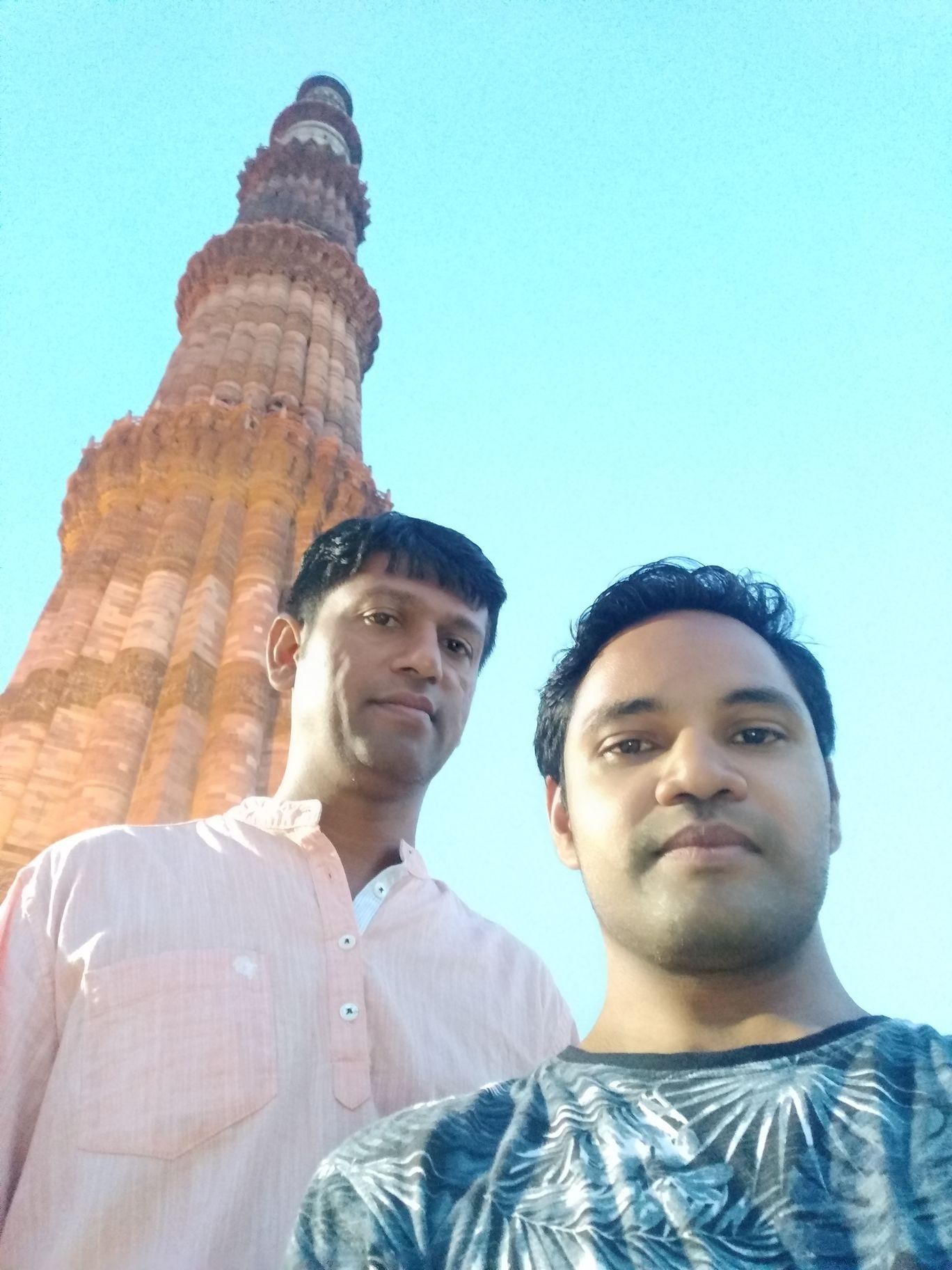 Photo of Kutub Minar By M Krishna Kumar