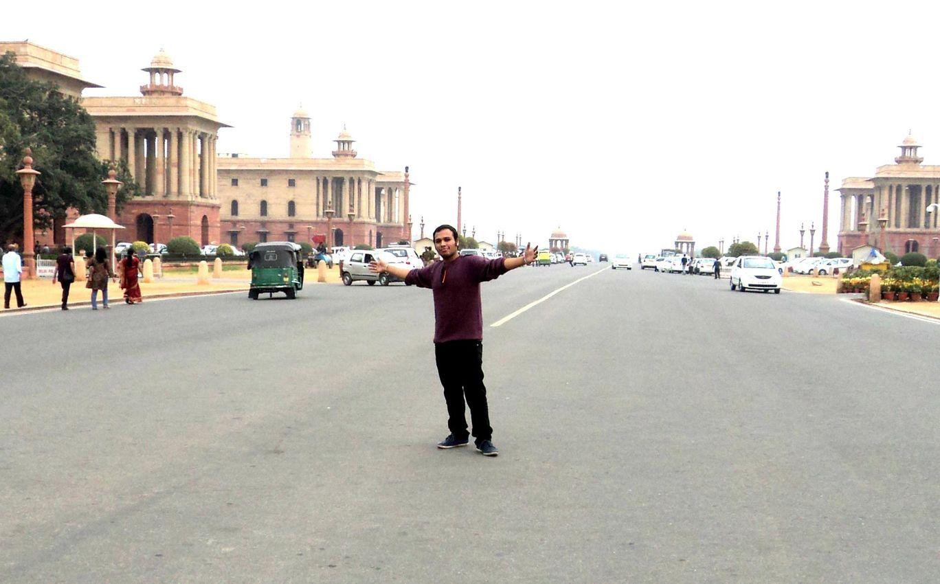 Photo of Sansad Marg By Rahul Agarwal