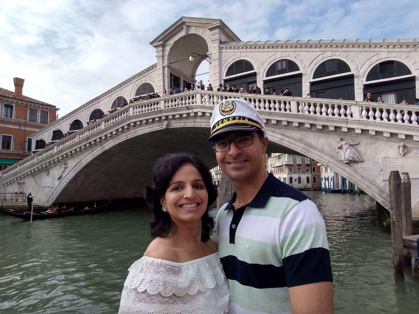 Photo of Rialto Bridge and the Gran Canal By Gaurav Chaudhary
