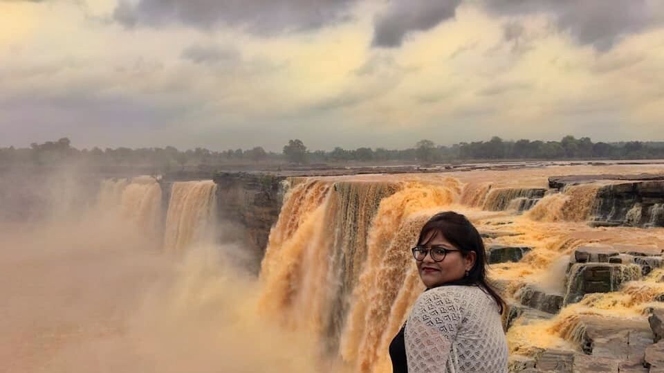 Photo of Chitrakut Water Fall By Paramita Roy
