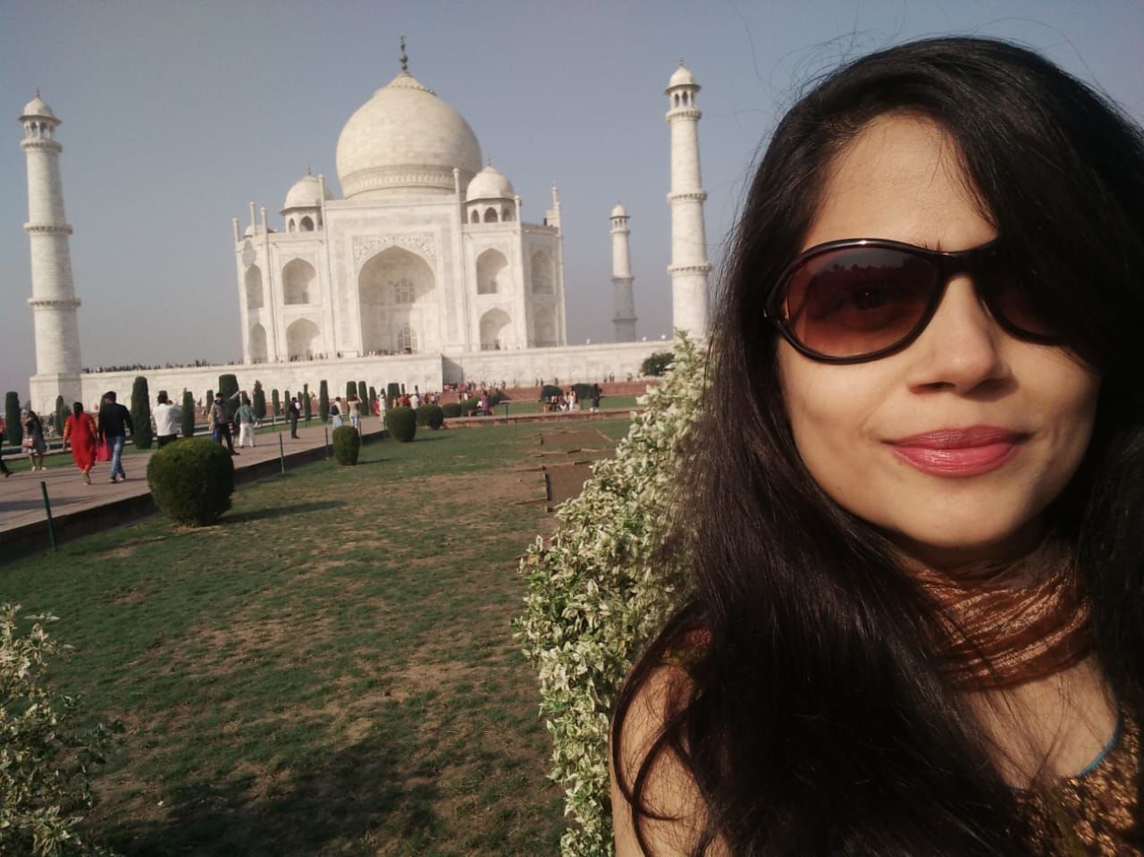 Photo of Taj Mahal By Erika