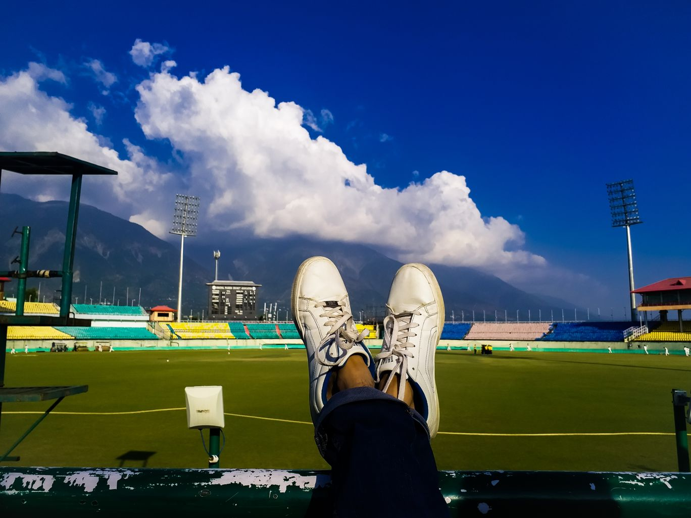 Photo of Dharamshala Stadium View By Vivek Gautam