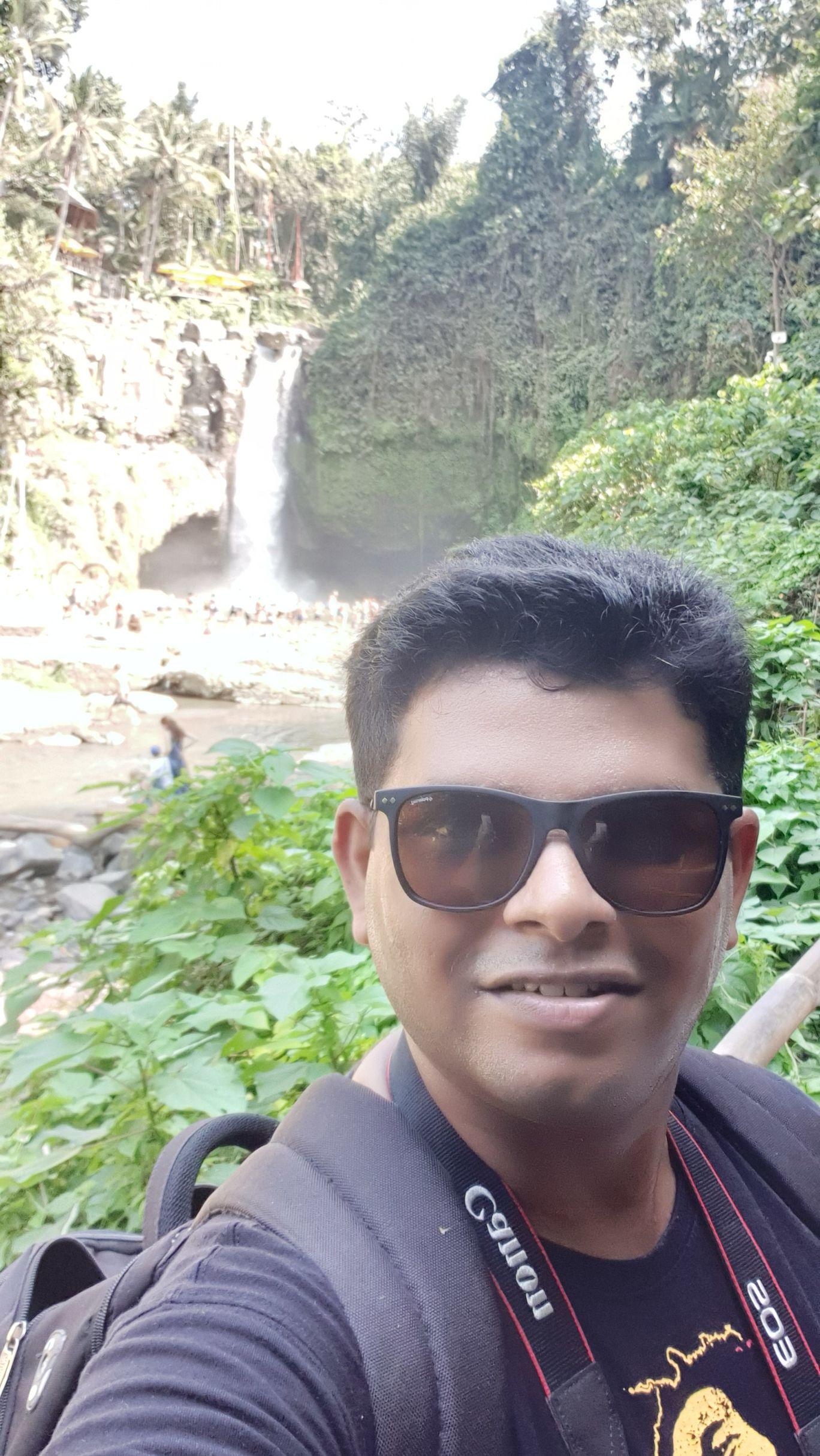 Photo of Tegenungan Waterfall By deepak rustagi