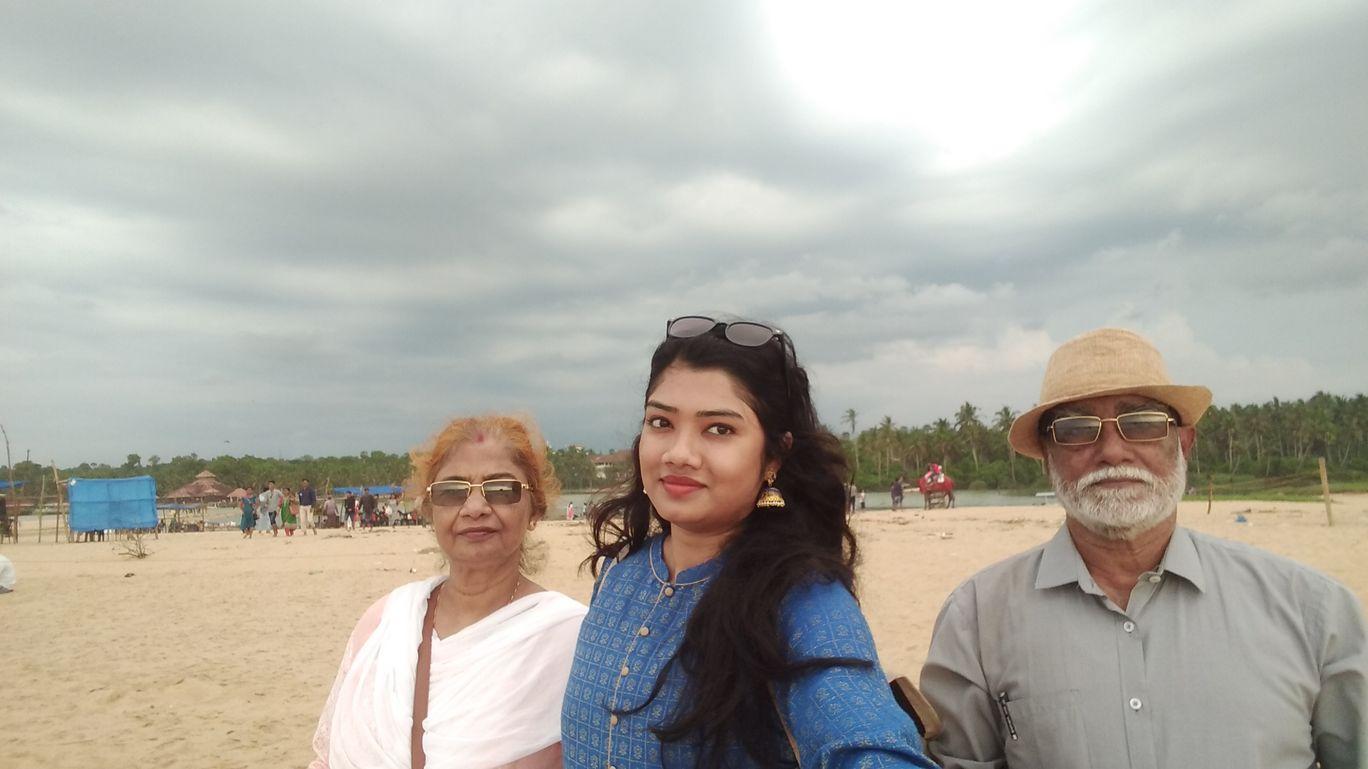 Photo of Pozhiyoor Golden beach By Ushashi Sarkar
