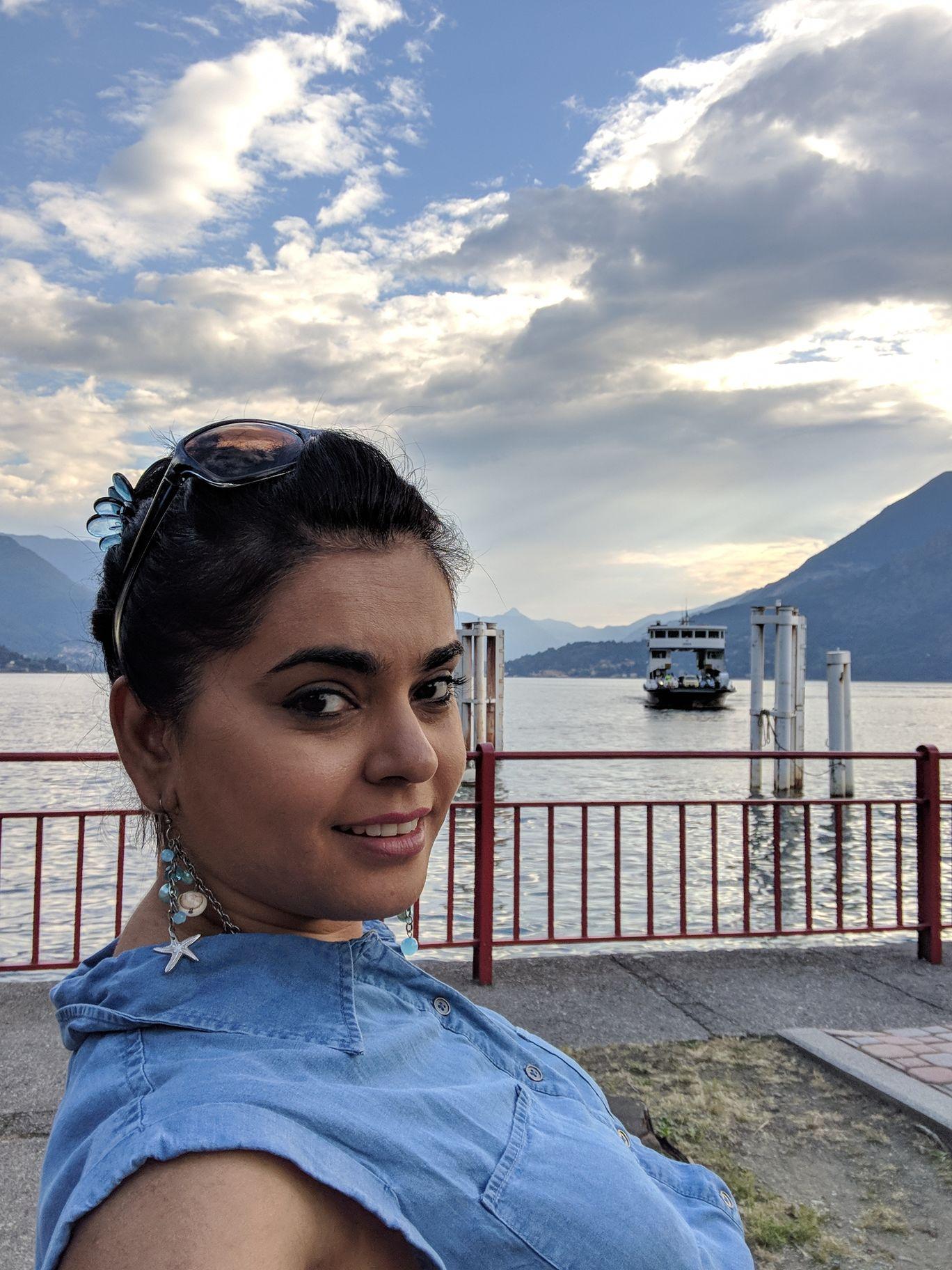 Photo of Lake Como By Amitoj Caur