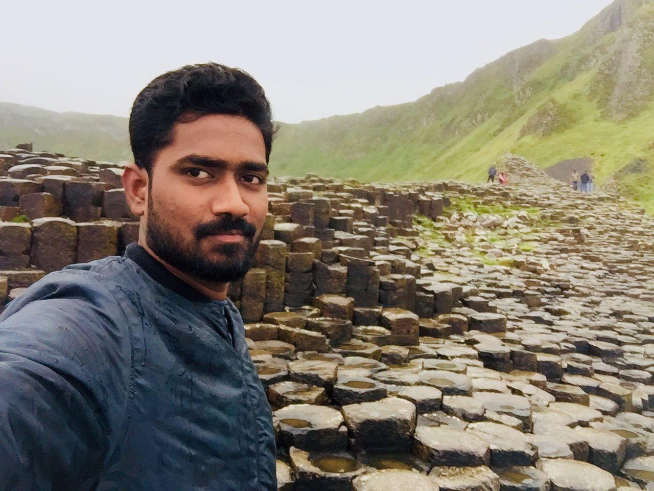 Photo of Giant's Causeway By Raveendra Kumar