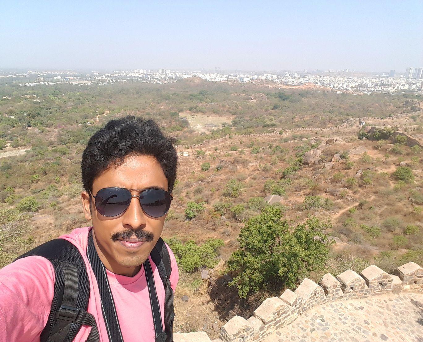 Photo of Golconda Fort By Rashbihari Dutta