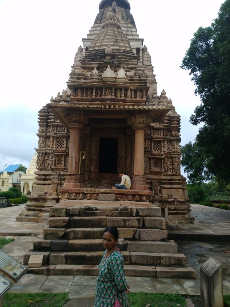 Photo of Khajuraho Temple By Abhishek Solanki