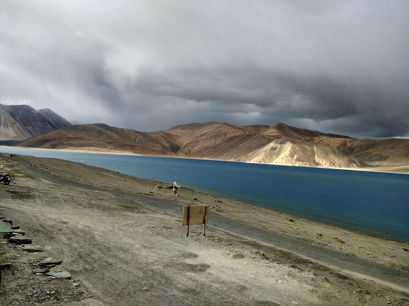 Photo of Pangong Lake By Kajol Agarwal