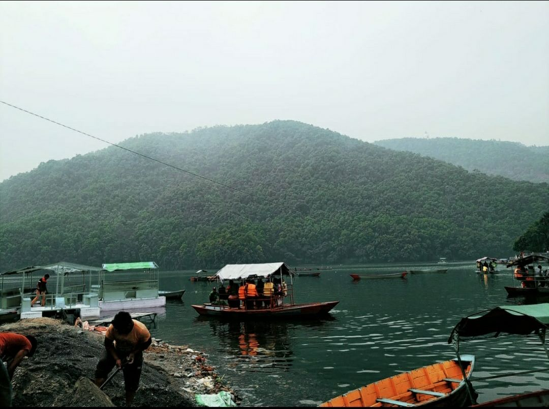 Photo of Pokhara By Vivek K. Singh