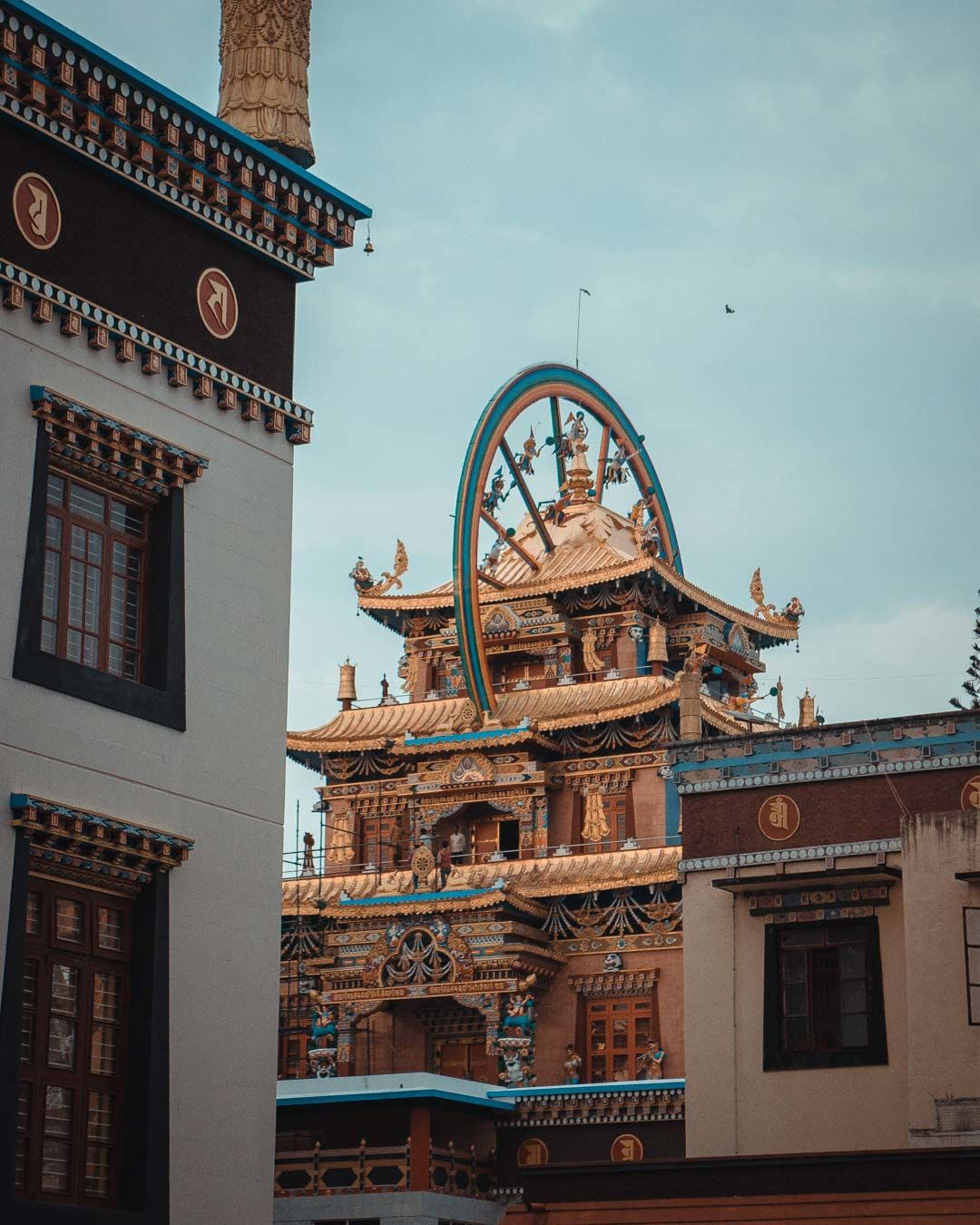 Photo of Namdroling Monastery Golden Temple By Saahil Rahman
