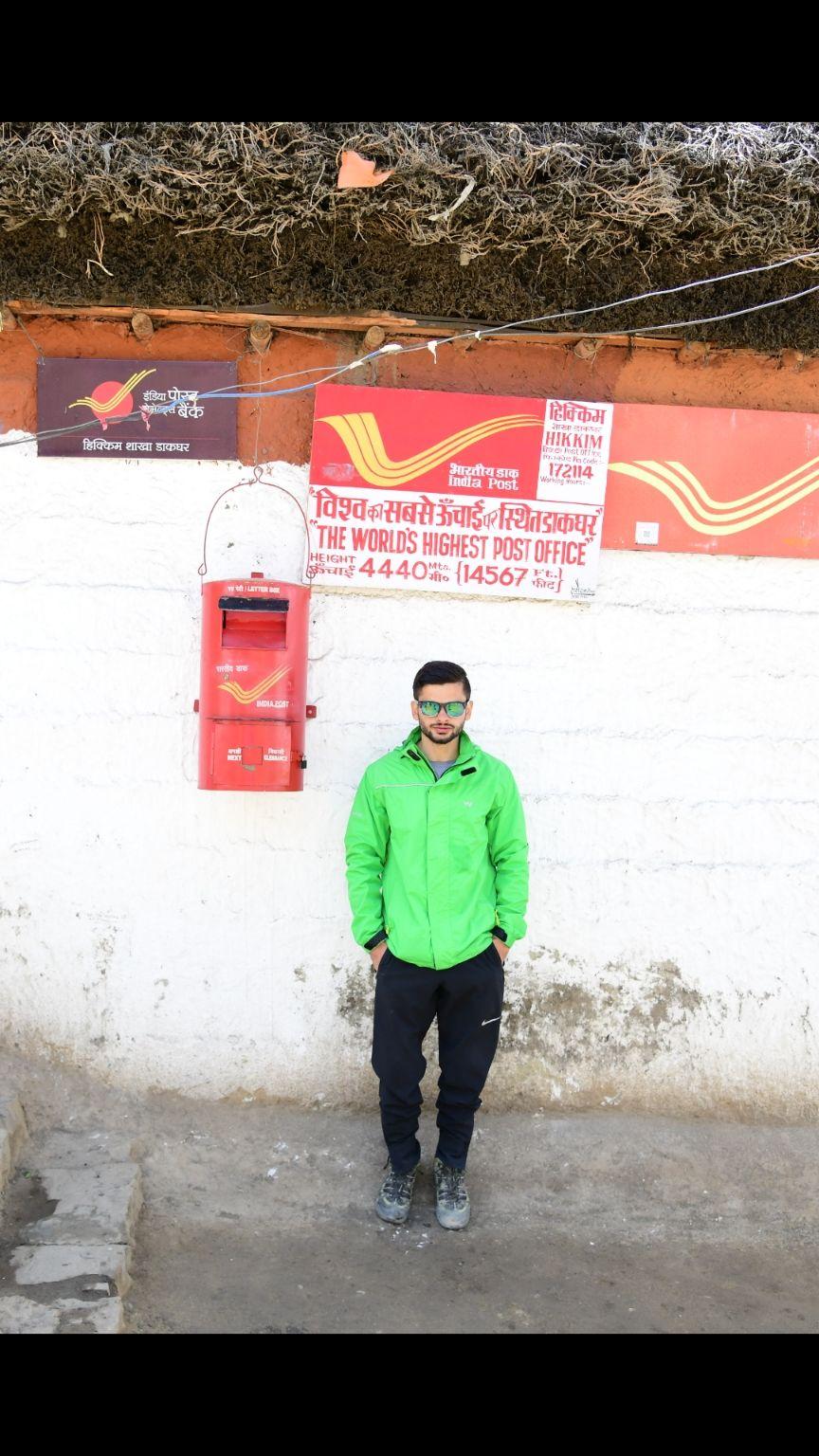 Photo of Hikkim Post Office हिक्कीम पोस्ट ऑफिस By Akhil Pathania