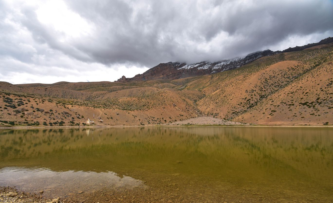 Photo of Dhankar Lake By Ashish Tripurwar