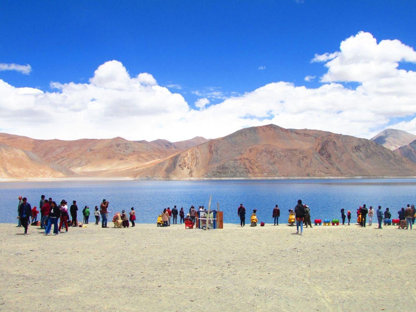 Photo of Pangong Lake By Praphul S Eravinalloor