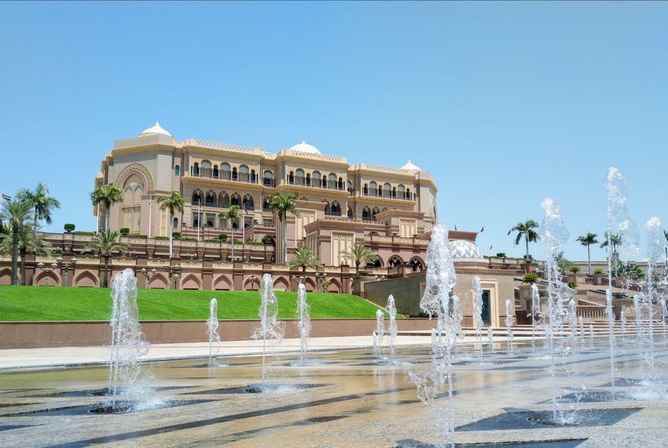 Photo of Emirates Palace - Abu Dhabi - United Arab Emirates By Sagar Garg