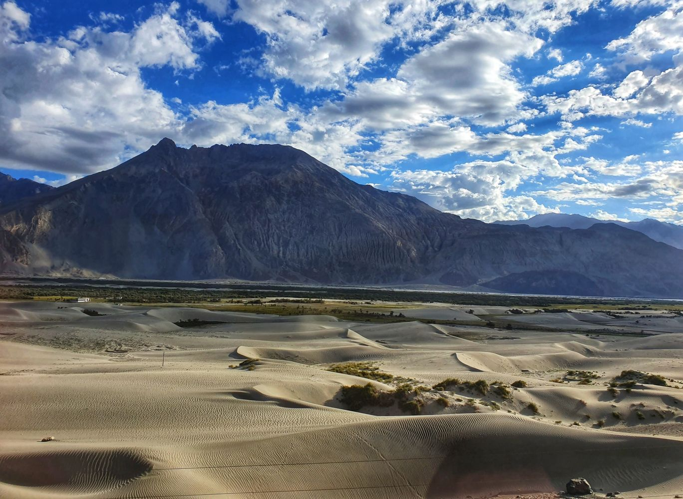 Photo of Hunder Sand Dunes By Saurabh Singh