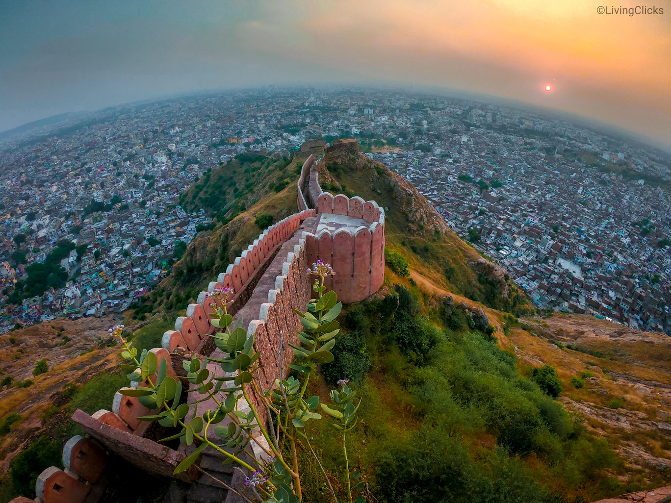 Photo of Nahargarh Fort By LivingClicks