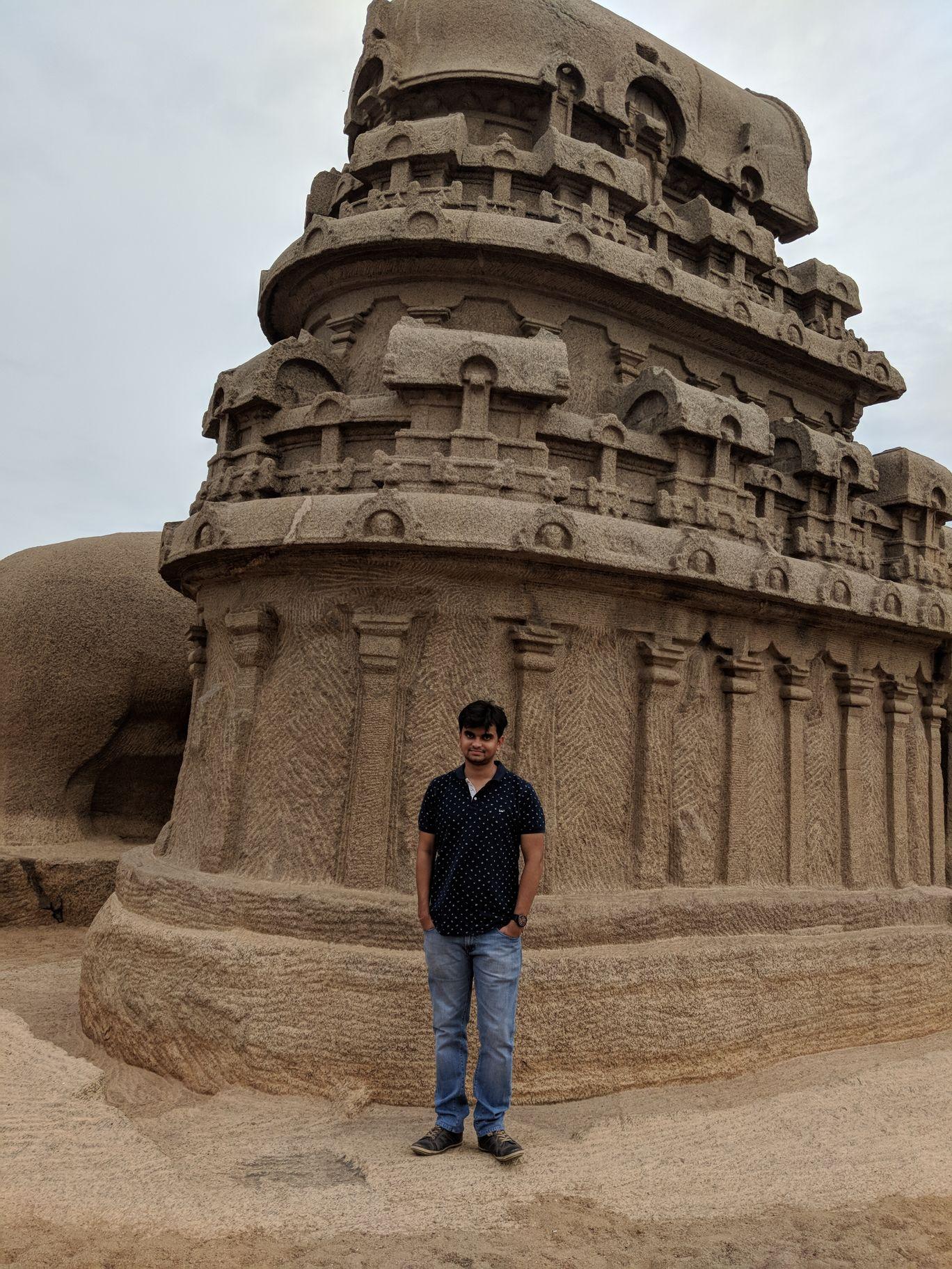 Photo of Mahabalipuram By Hardik Gupta