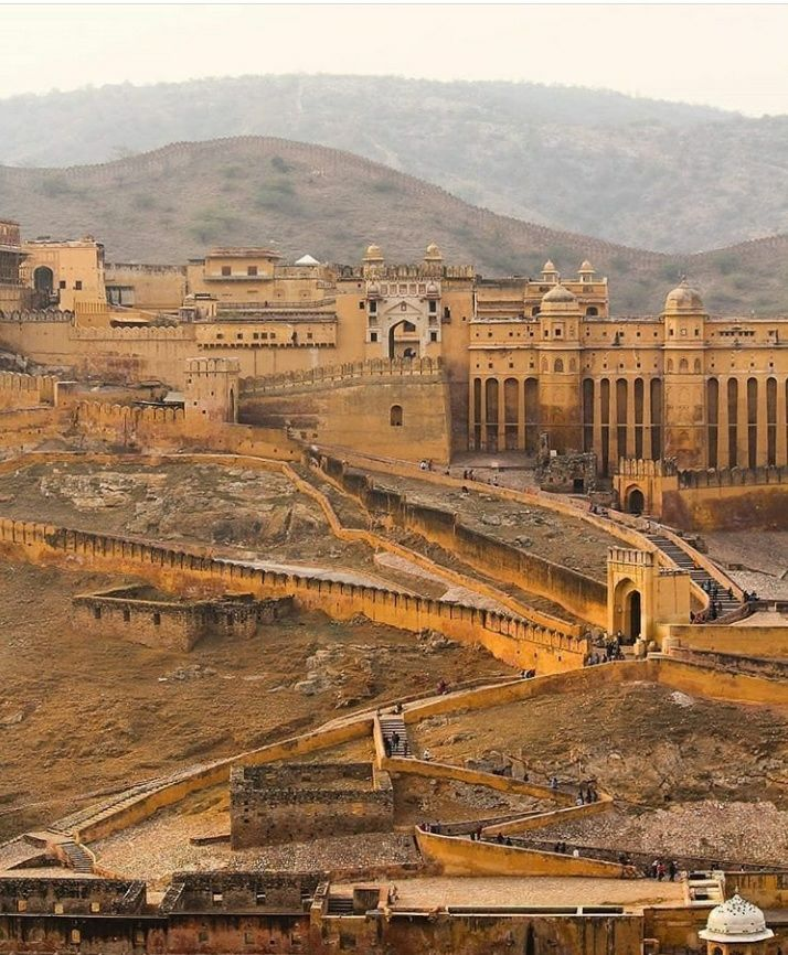 Photo of Amer Fort By ErMahaveer Gurjar