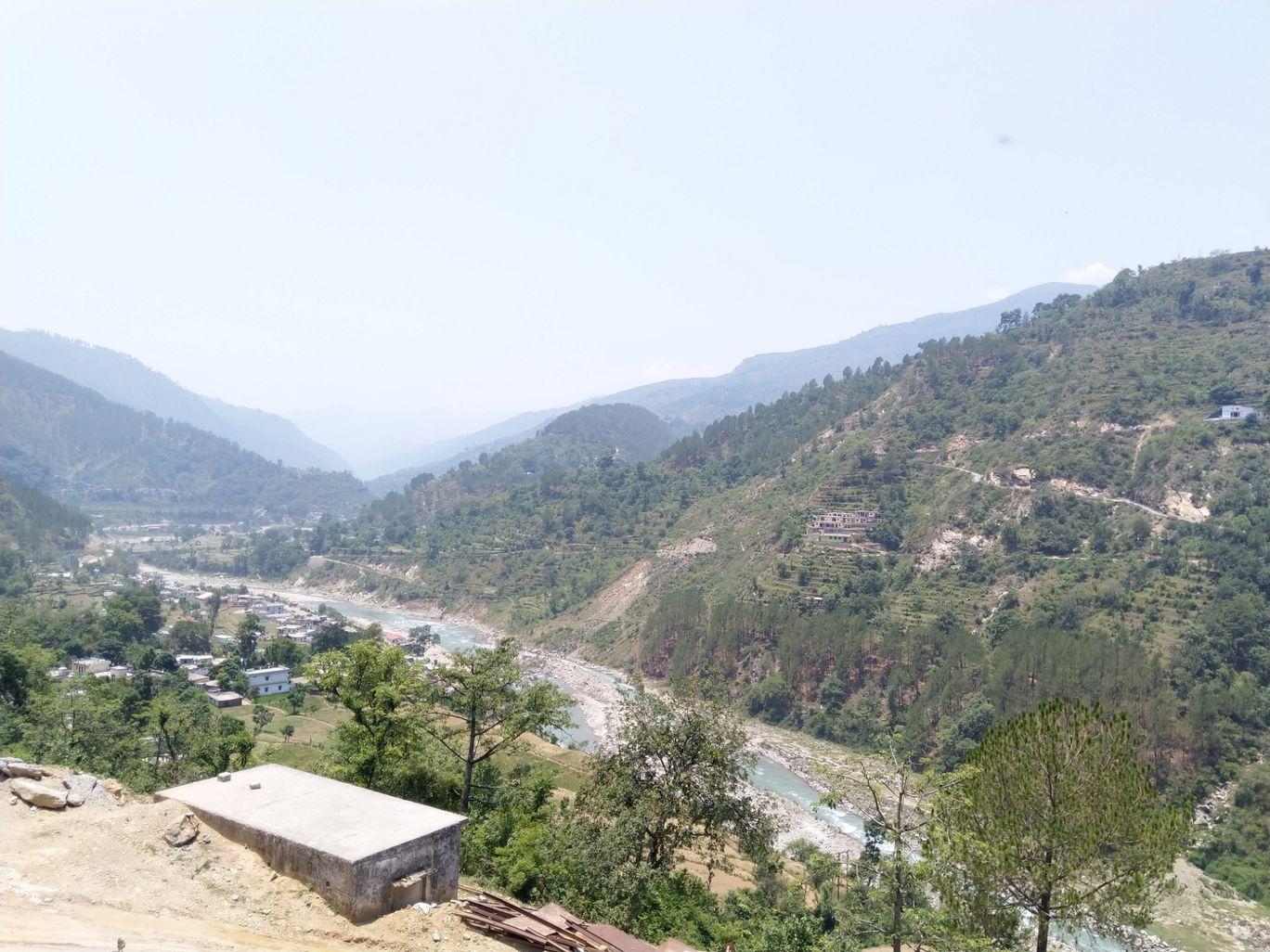 Photo of Singholi Bhatwari Hydro Power-House Road By Manish Verma