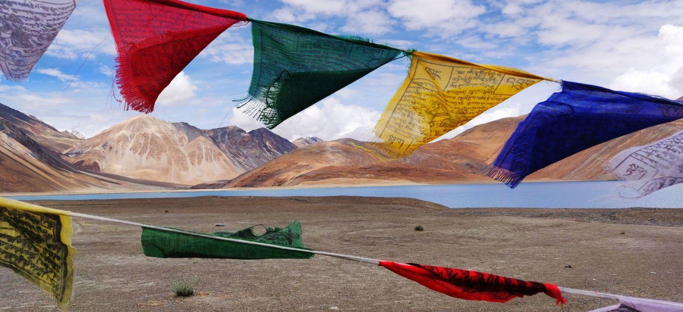 Photo of Pangong Lake By Mukul Peppal