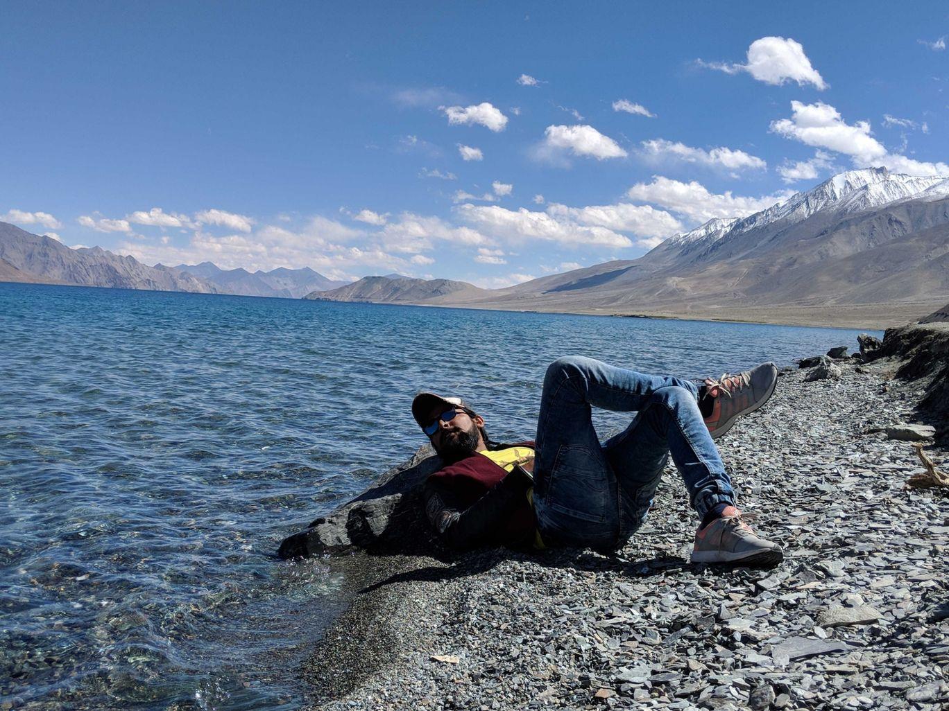 Photo of Pangong Lake By pavan khare