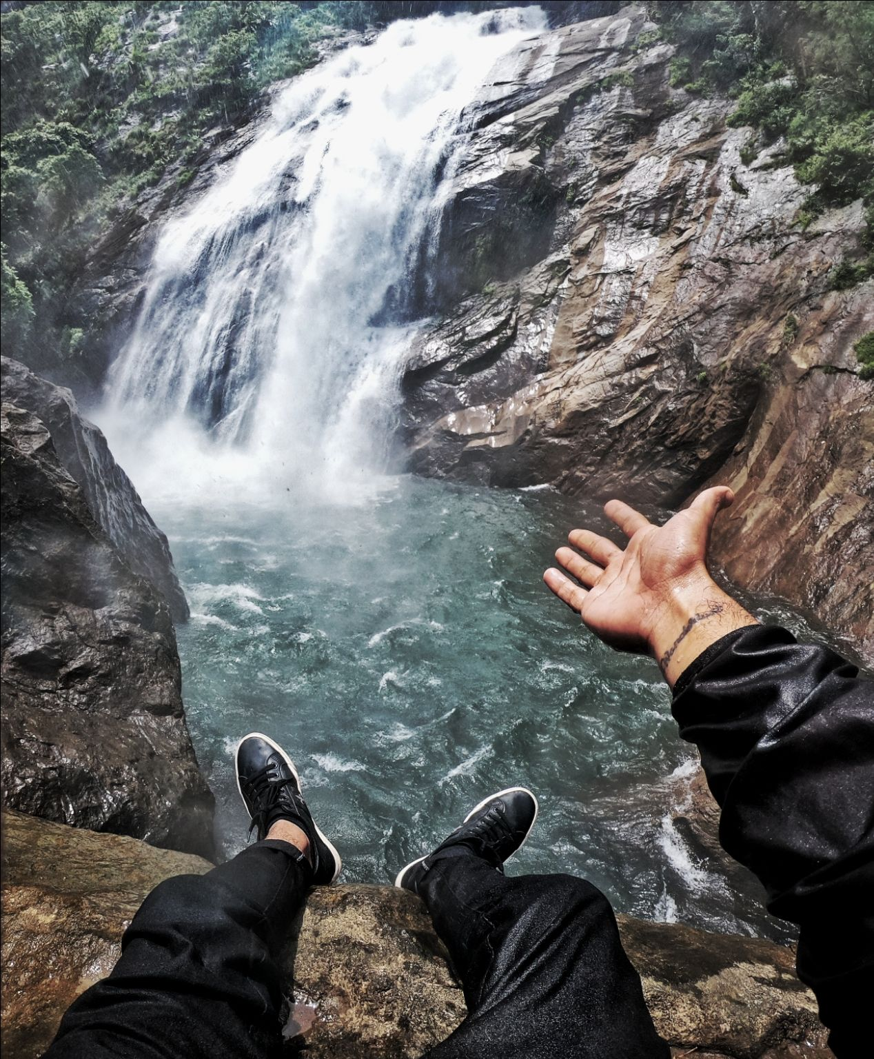Photo of Marmala Waterfalls By Nothing to loose and a world to see Anil