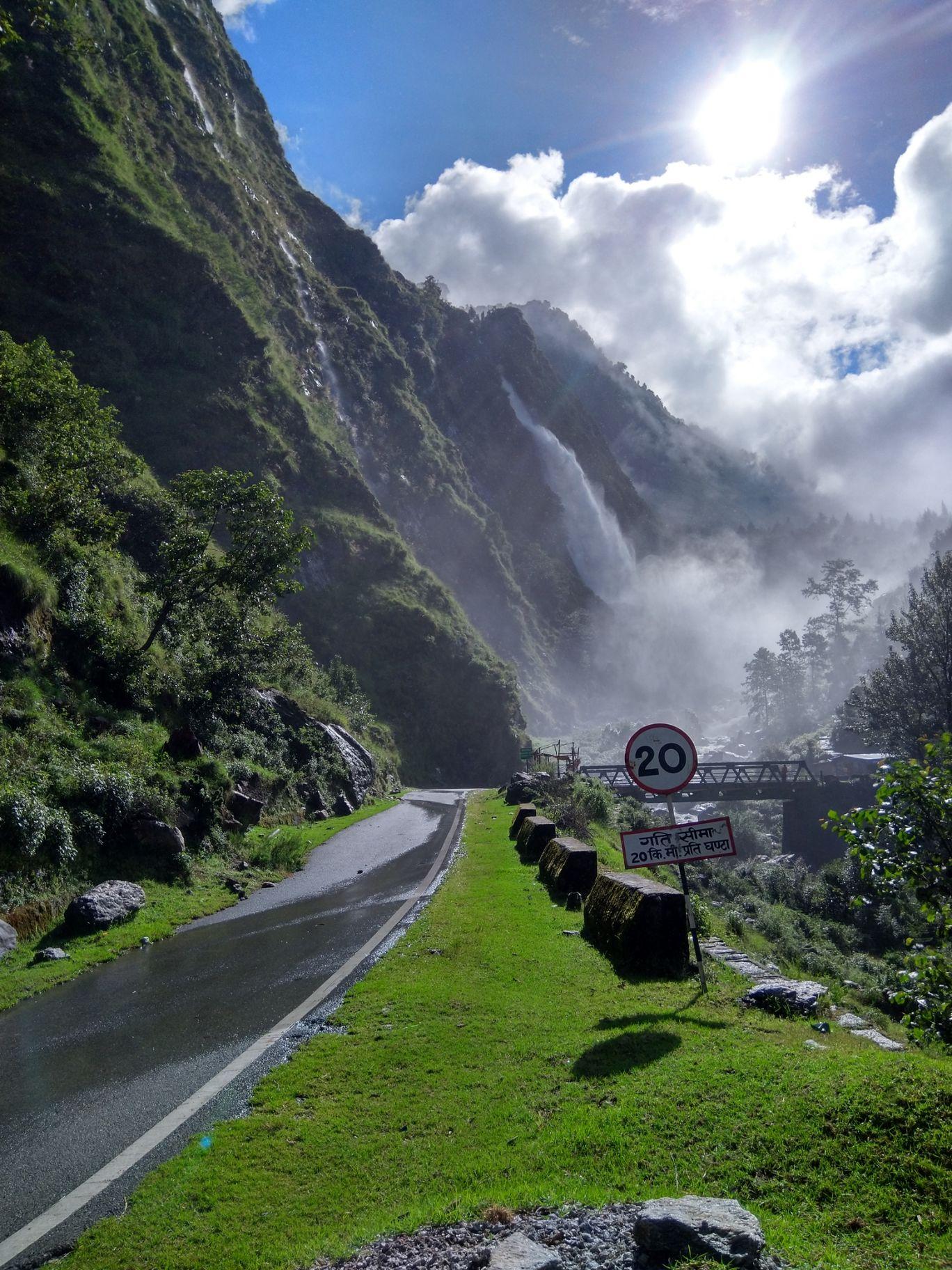 Photo of Birthi Water Fall By Kamlesh Verma