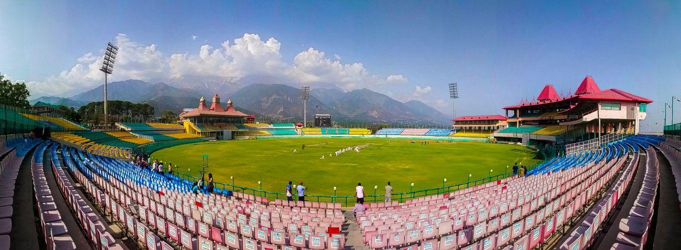 Photo of Himachal Pradesh Cricket Association Stadium By Manan Mathur