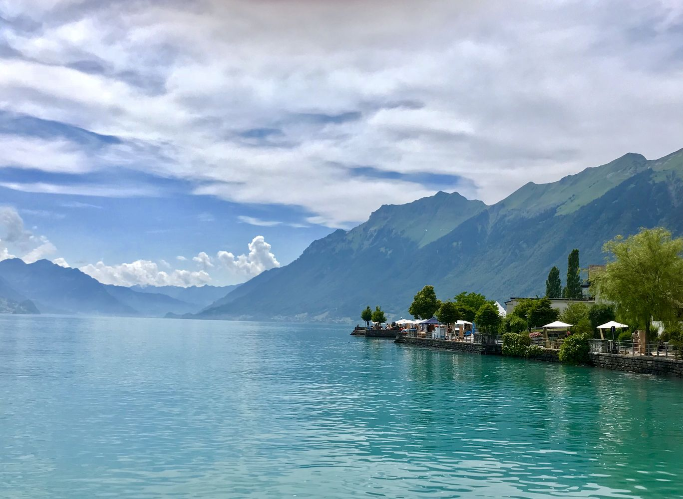 Photo of Lake Brienz By Puja Biswas