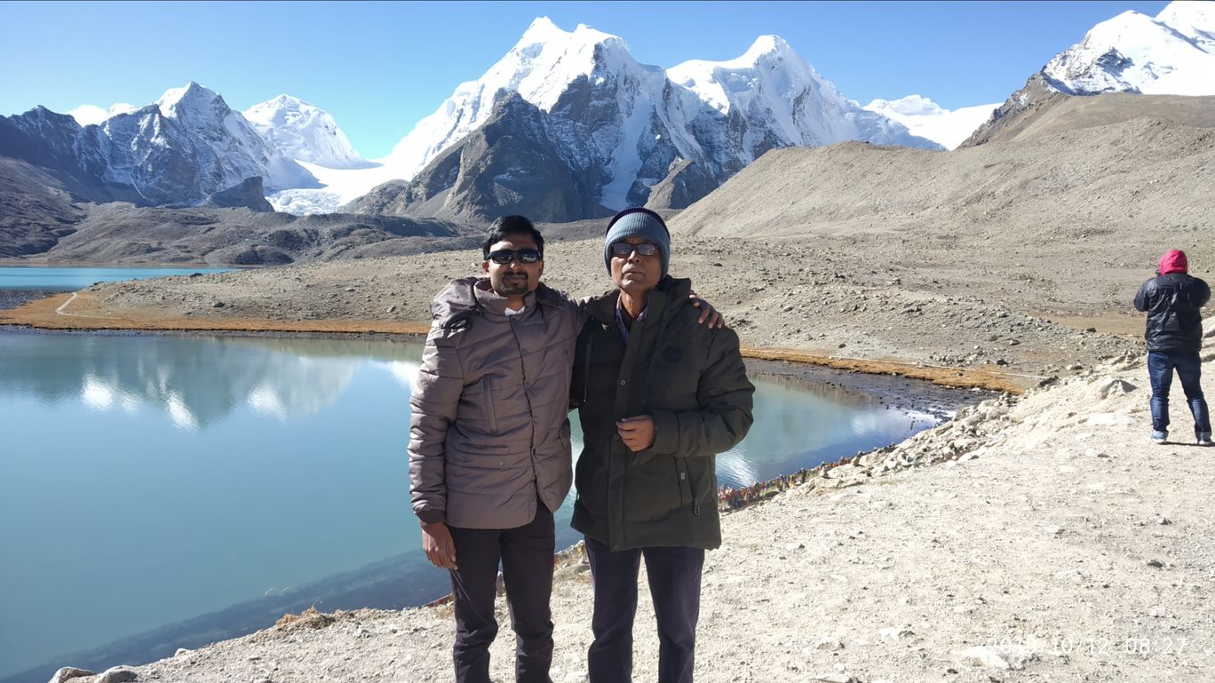Photo of Gurudongmar Lake By Ranajay Samanta
