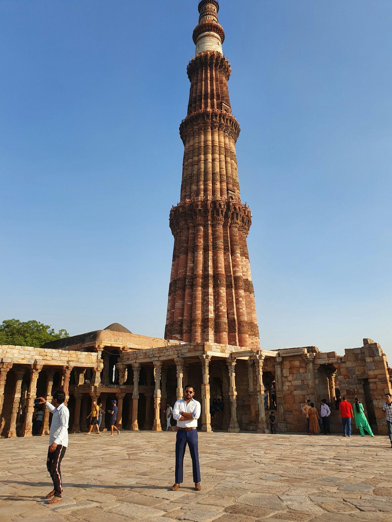 Photo of Qutub Minar By Prasad Bansode