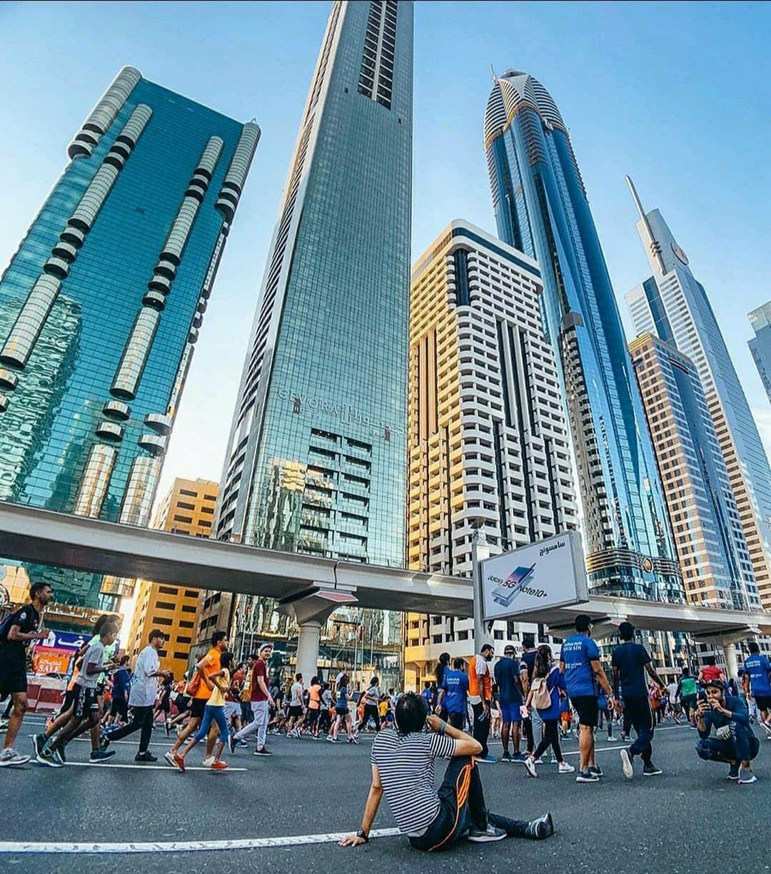 Photo of Sheikh Zayed Road - Dubai - United Arab Emirates By Sandeep Soni