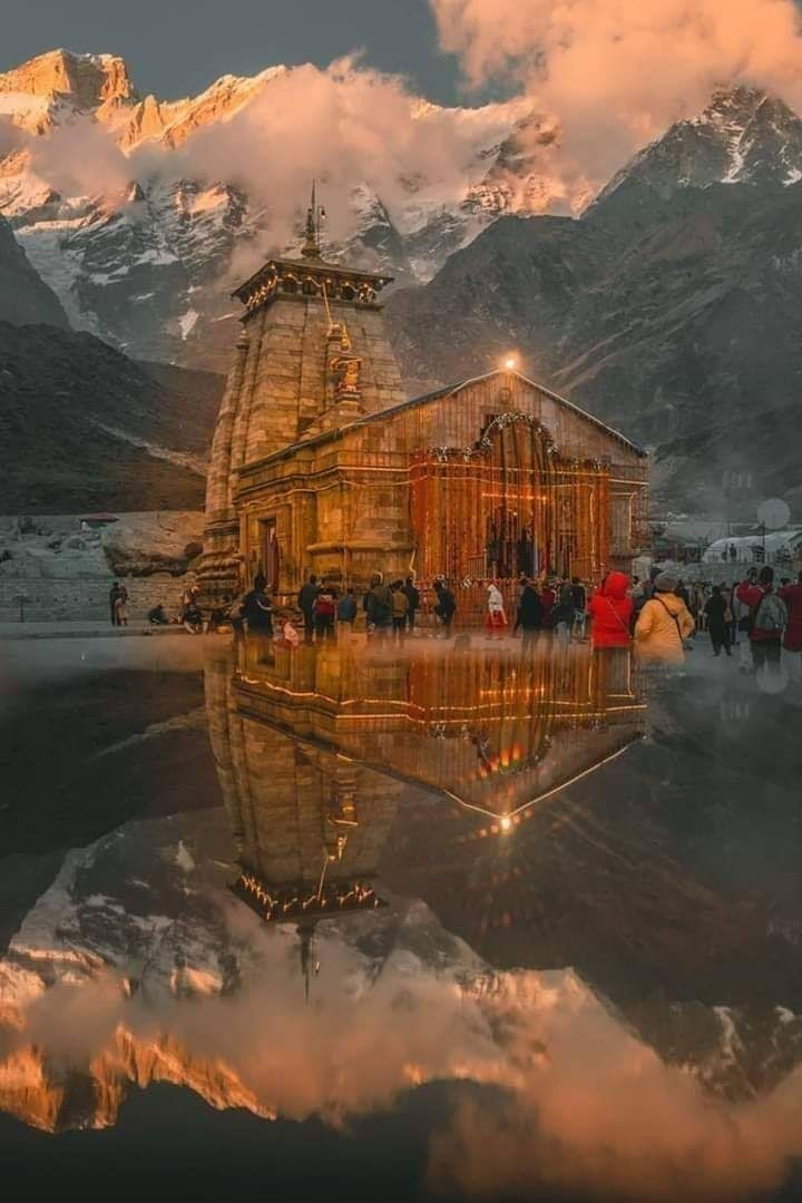 Photo of Kedarnath Temple By yashraj shukla