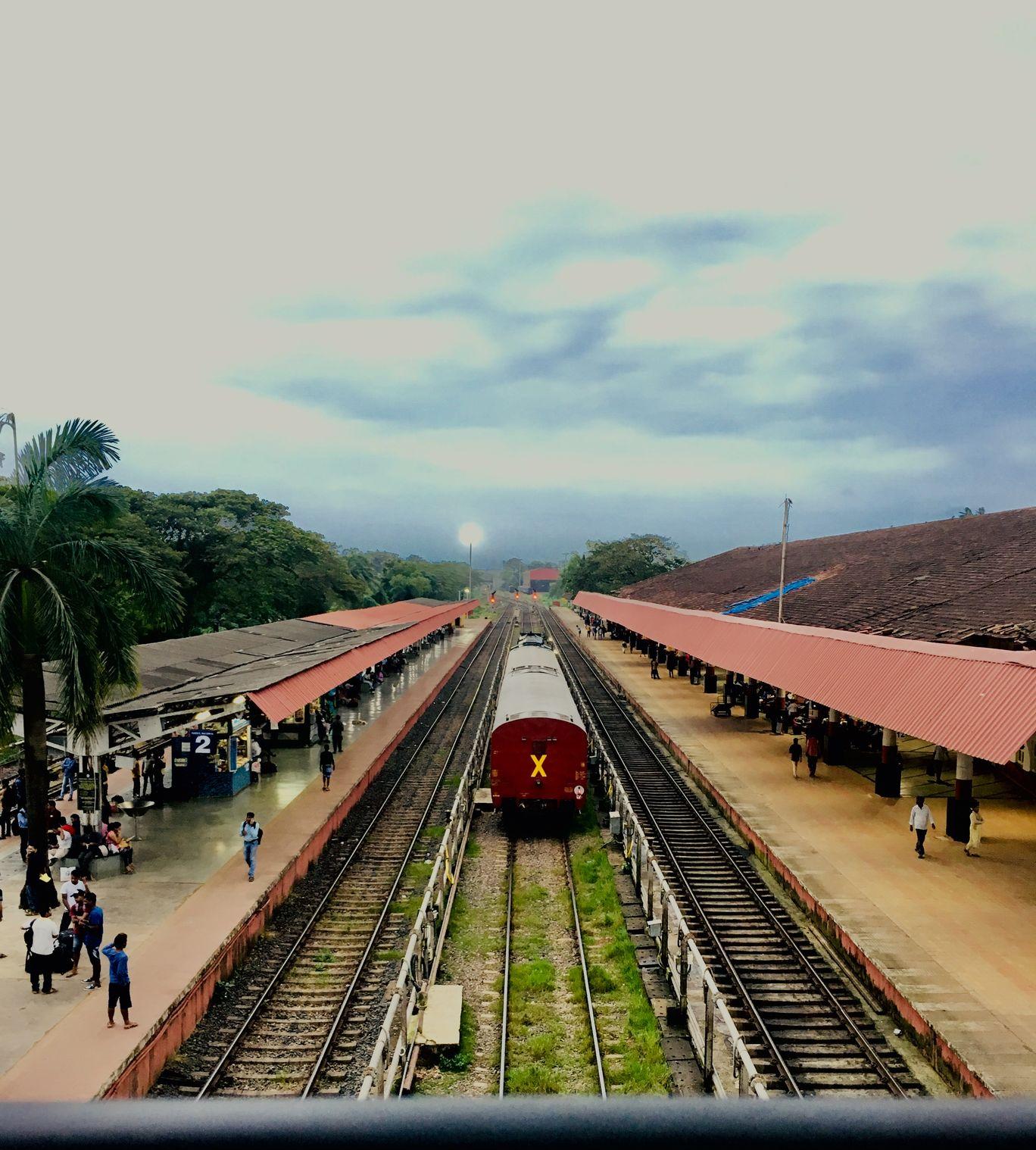 Photo of Madgaon Railway Station By Anubha Singh