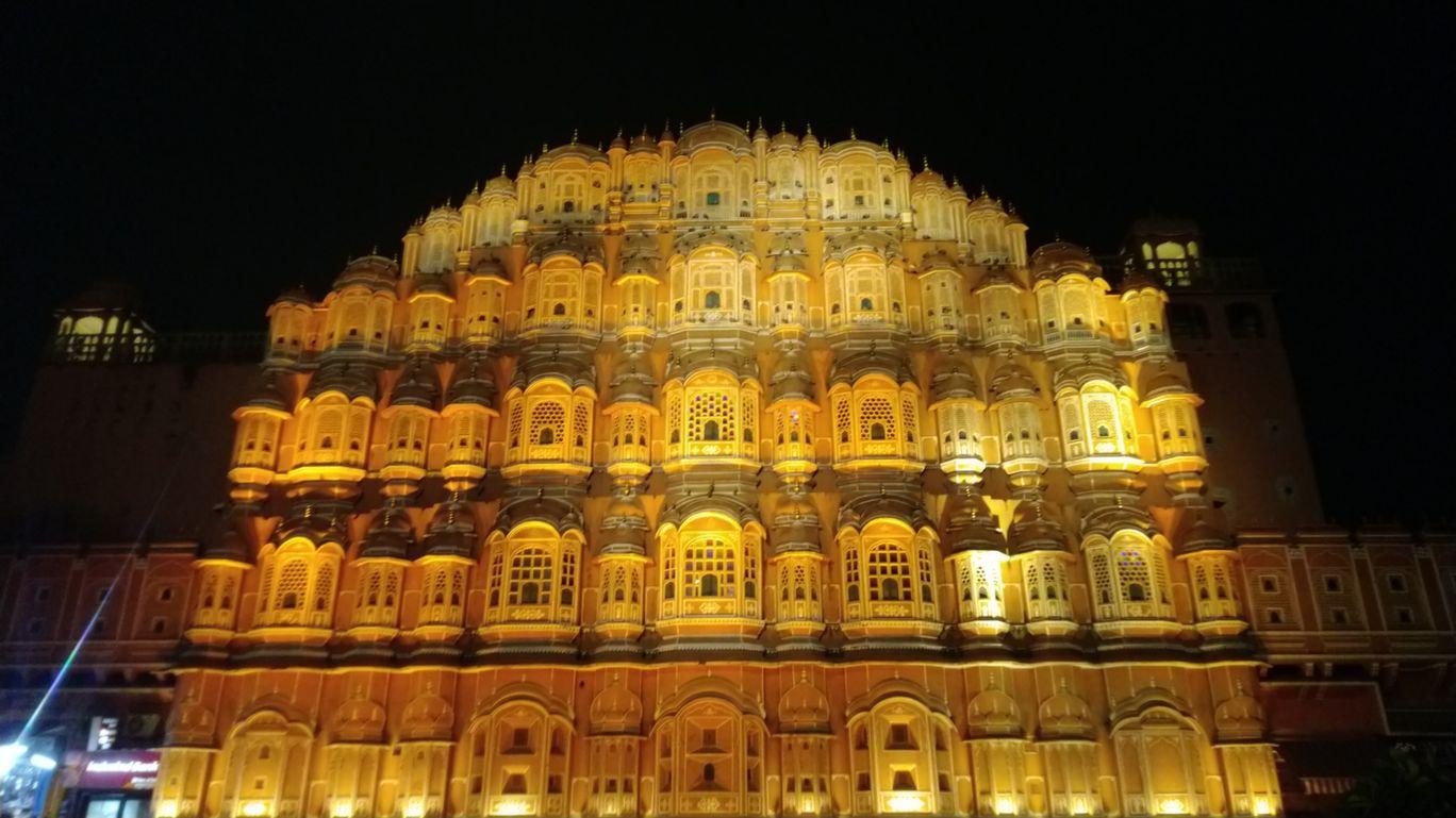 Photo of Hawa Mahal By Akhil K B