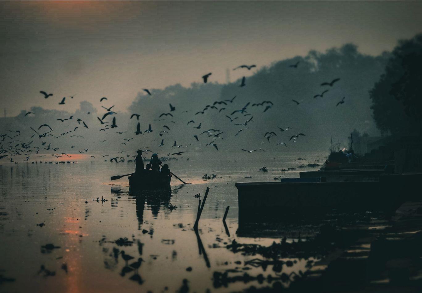 Photo of Yamuna Ghat By Badzee