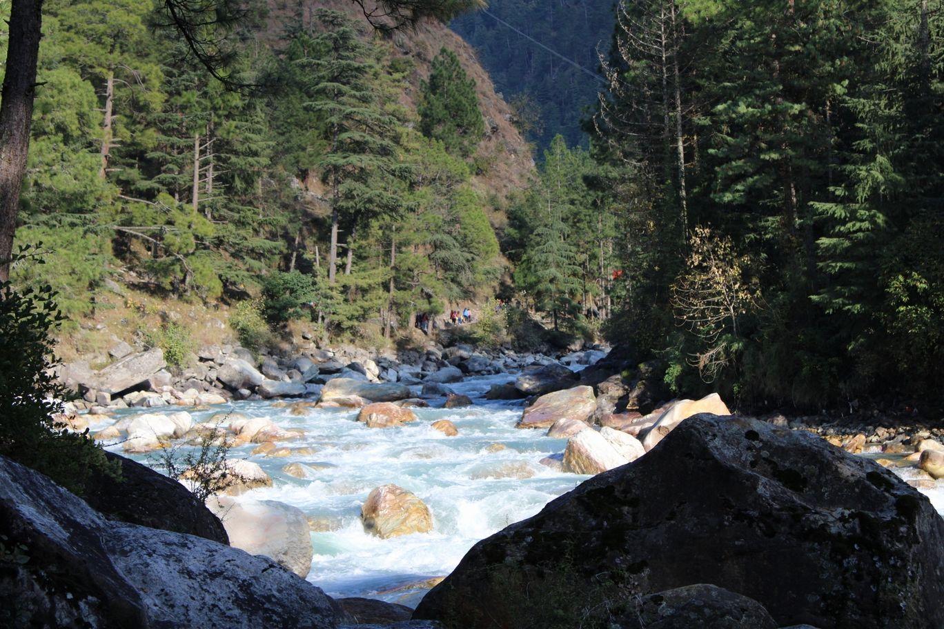 Photo of Parvati River Kasol By Versha Khuttel