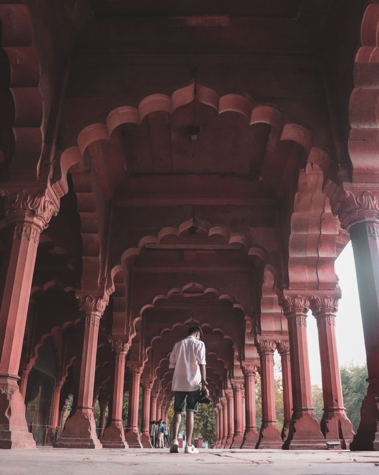 Photo of Red Fort By Yudhajit Dey