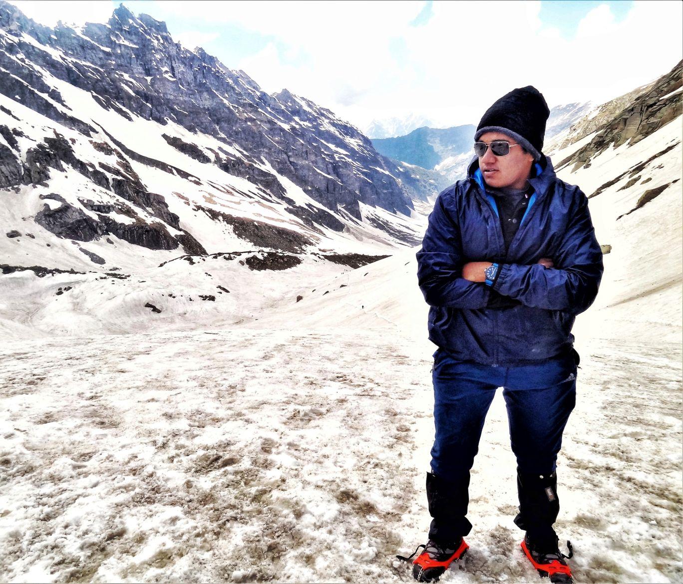 Photo of Hampta Pass Trek Camp Himalayan Mountain Sojourns By edifice notch