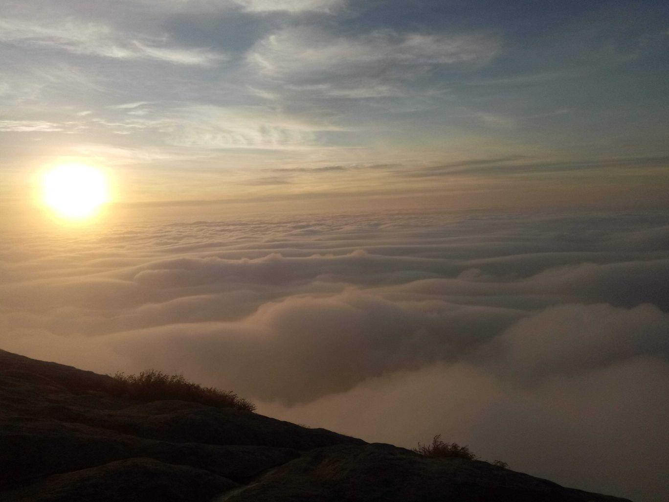 Photo of Nandi Hills Sunrise View Point By Vaibhav Magadum