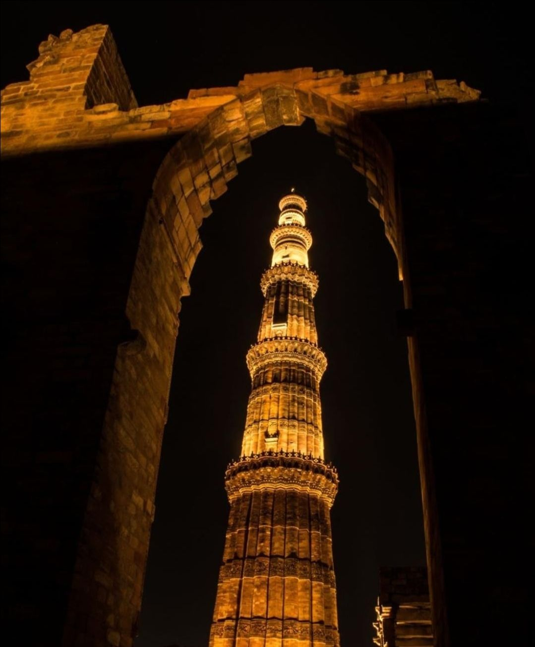 Photo of Qutub Minar By Manish Pandey
