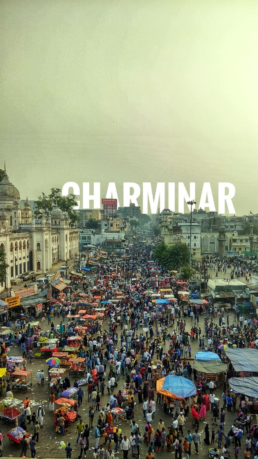 Photo of Charminar (Old City) By Santosh sadhu