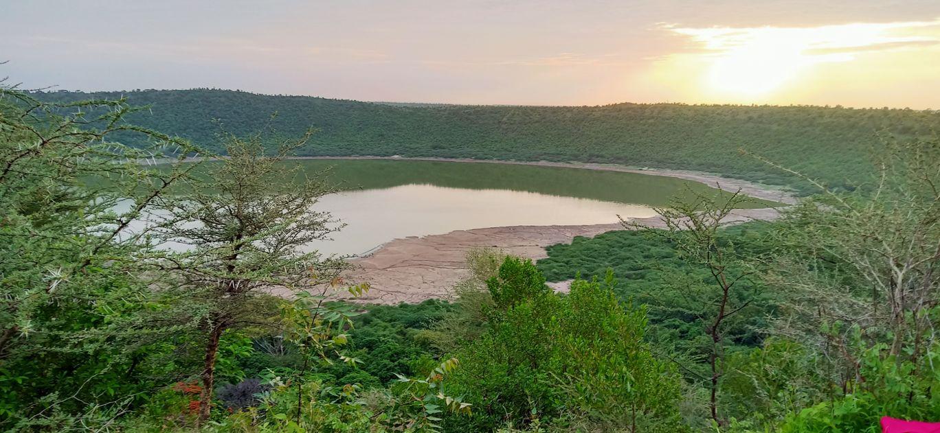 Photo of Lonar Lake By Dr Kunal Gondhane