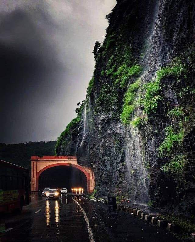 Photo of Mumbai Pune Express Way Tunnel By Krati Agarwal
